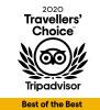 Trip Adviser - Travellers Choice 2020
